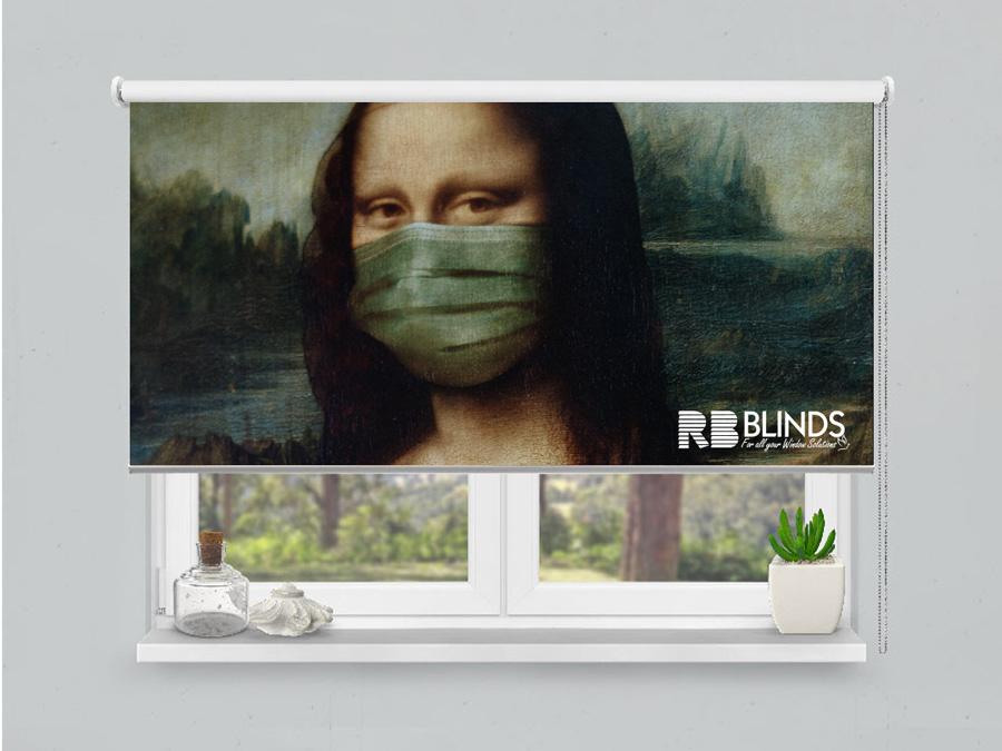 Art on a blind